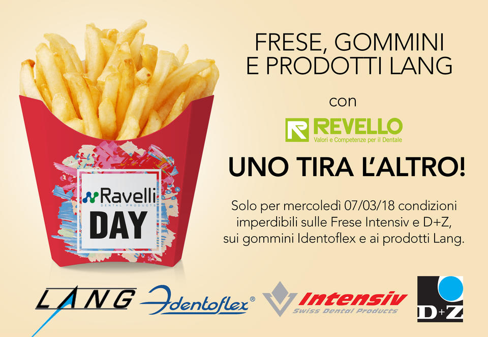 Ravelli Day frese gommini Revello