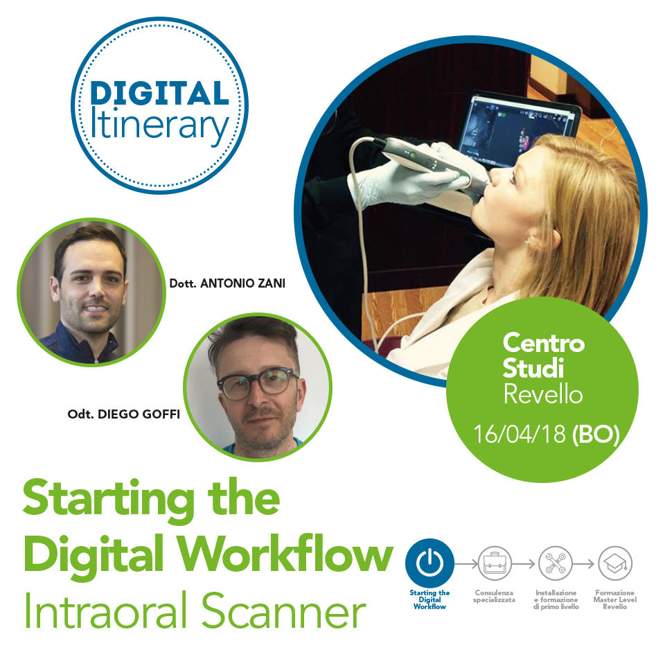 Starting the Digital Workflow Intraoral Scanner - Bologna