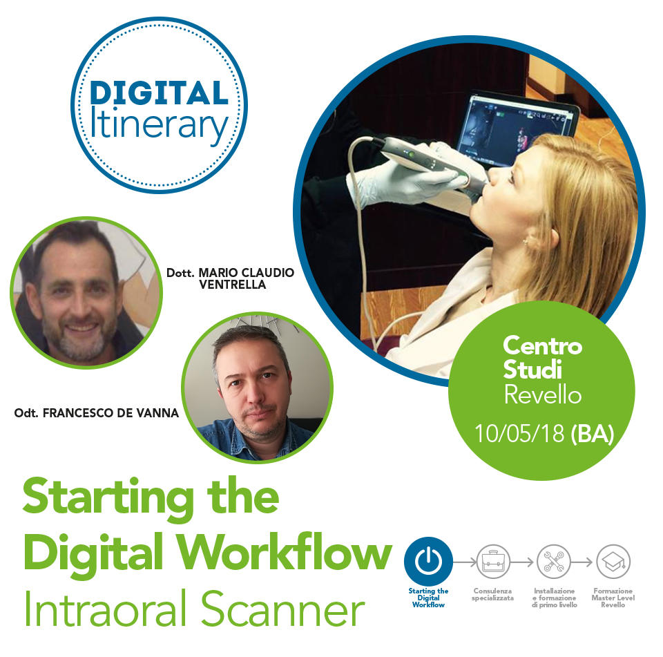 Starting the Digital Workflow Intraoral Scanner - Bari