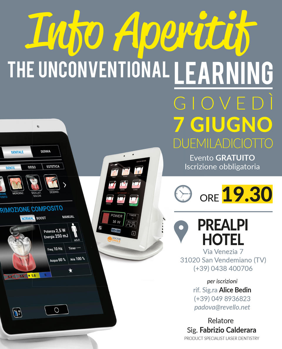 Info Aperitif - The Unconventional Learning - Treviso