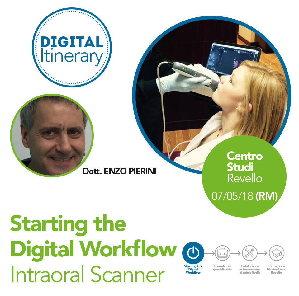Starting the Digital Workflow Intraoral Scanner - Roma