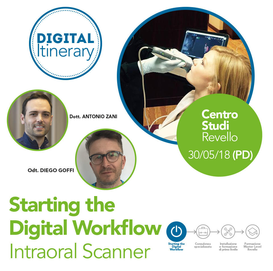 Starting the Digital Workflow Intraoral Scanner - Padova