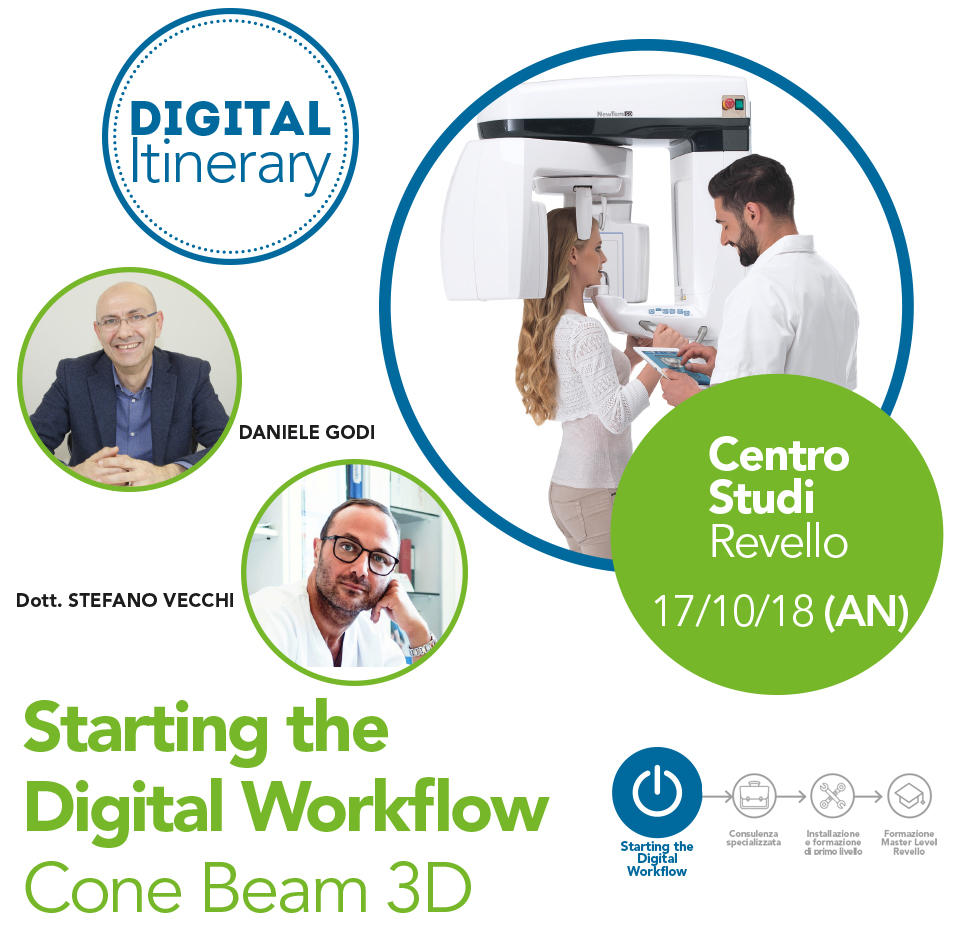 Starting the Digital Workflow Cone Beam 3D Revello