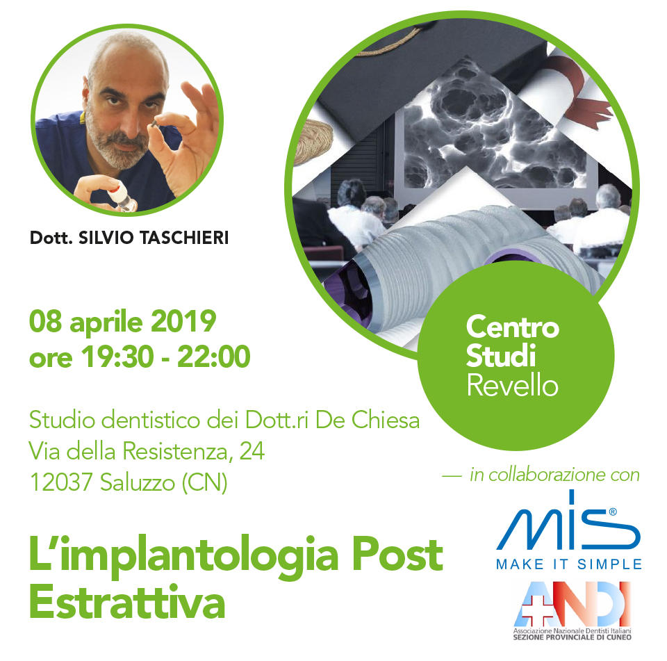 L'implantologia Post Estrattiva - Cuneo