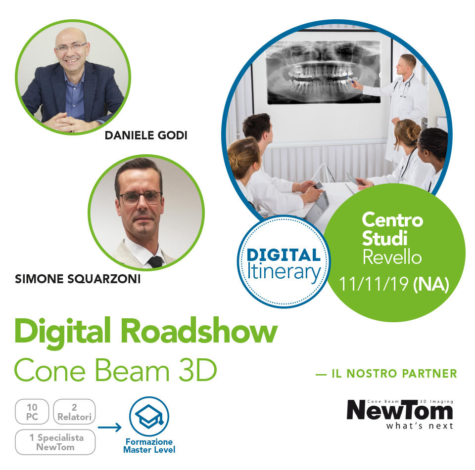 Digital Roadshow Cone Beam 3D - Napoli