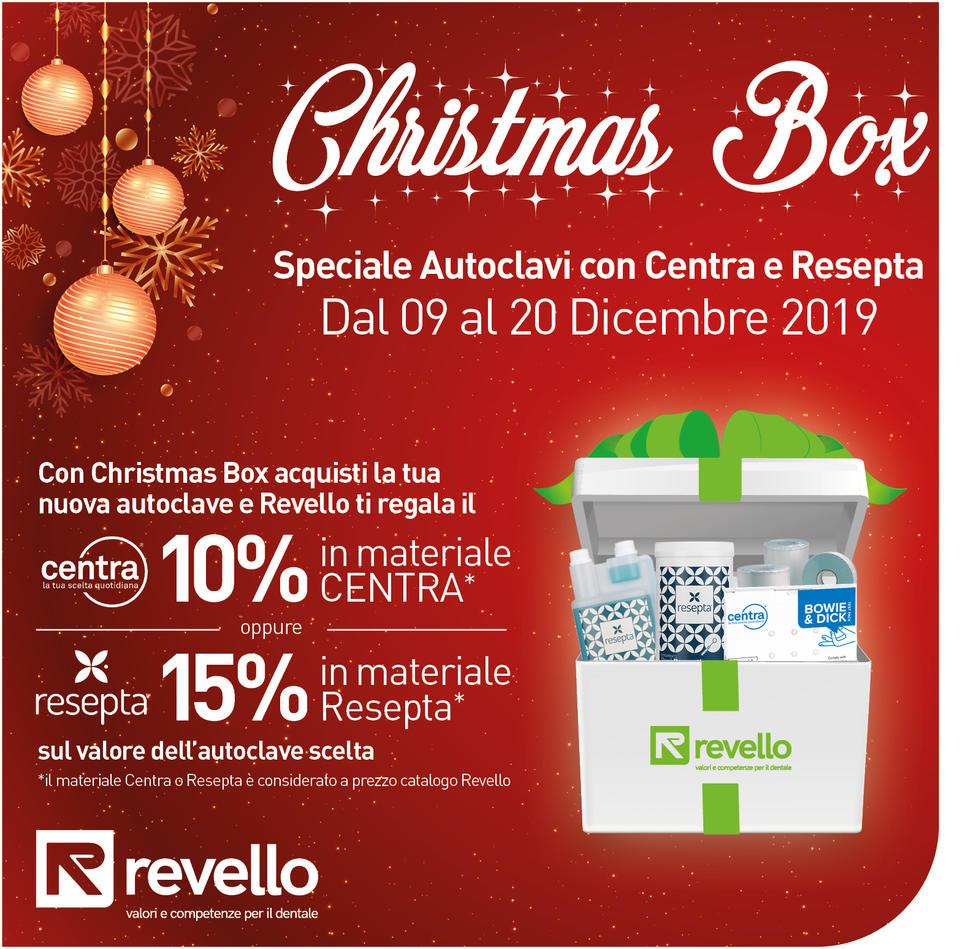 Christmas Box con Revello