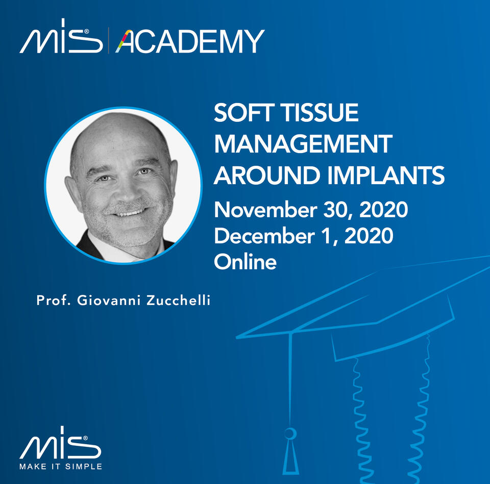 Soft tissue management around implants with live surgery