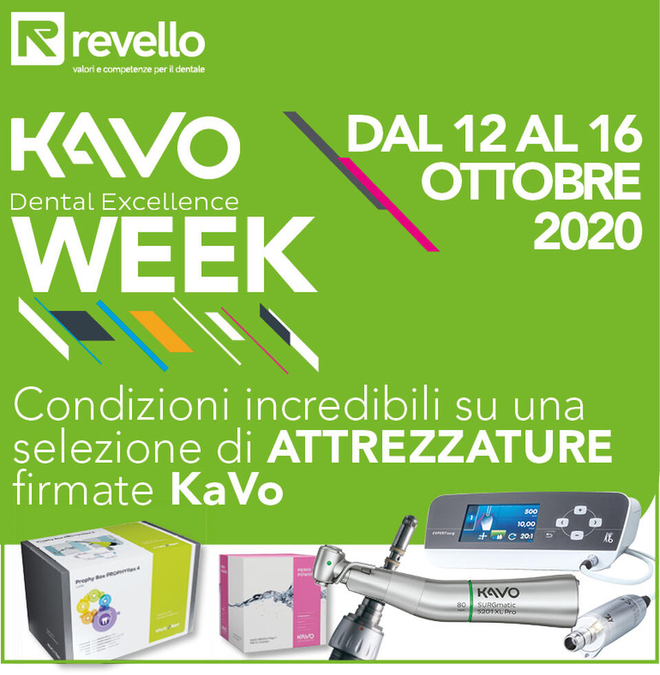 Partner KaVo Week con Revello 2020
